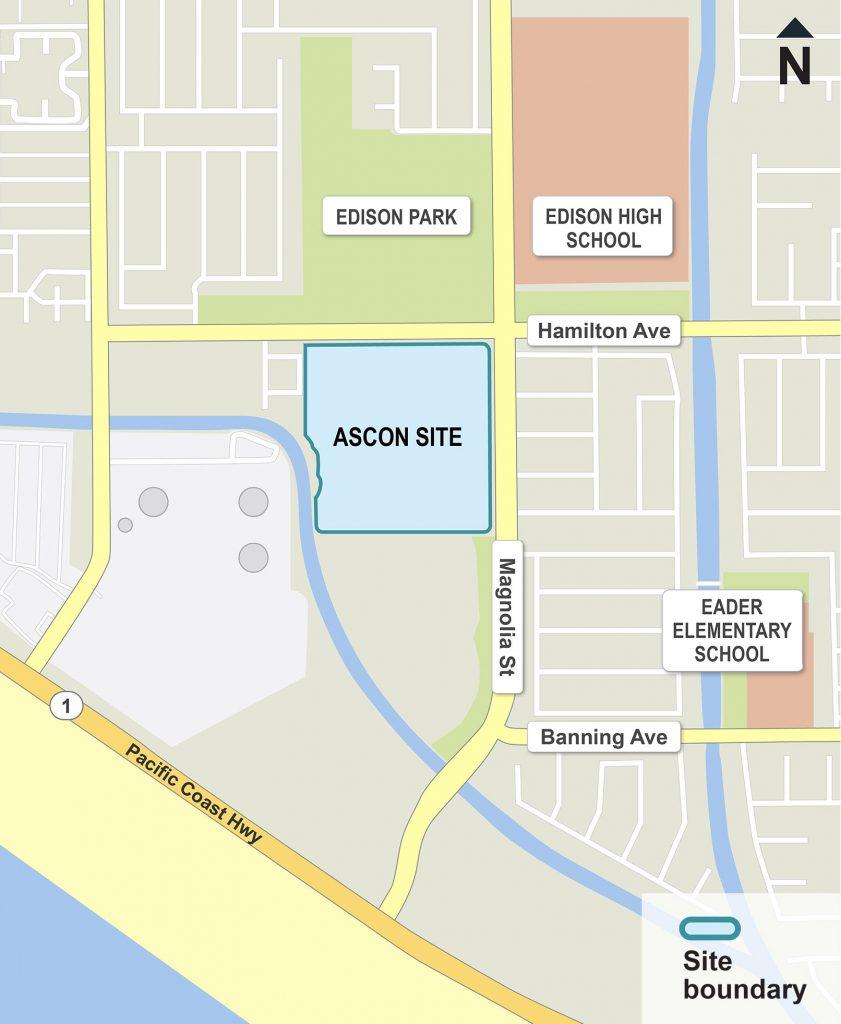 Ascon site map