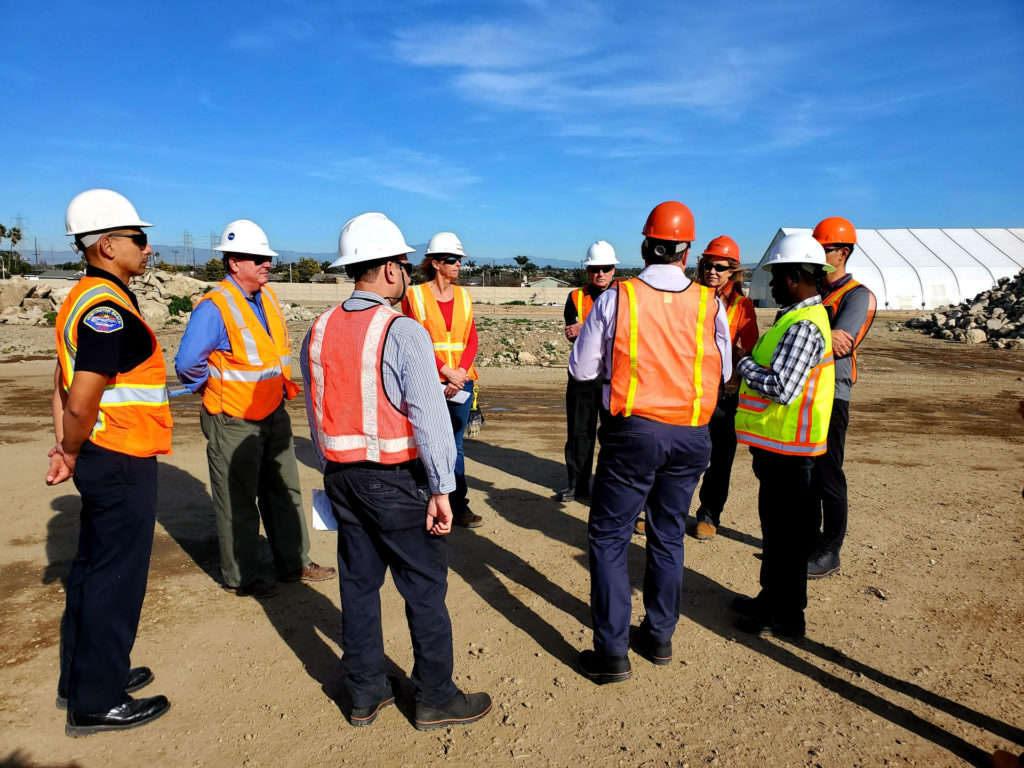 Mayor Lyn Semeta site tour with DTSC