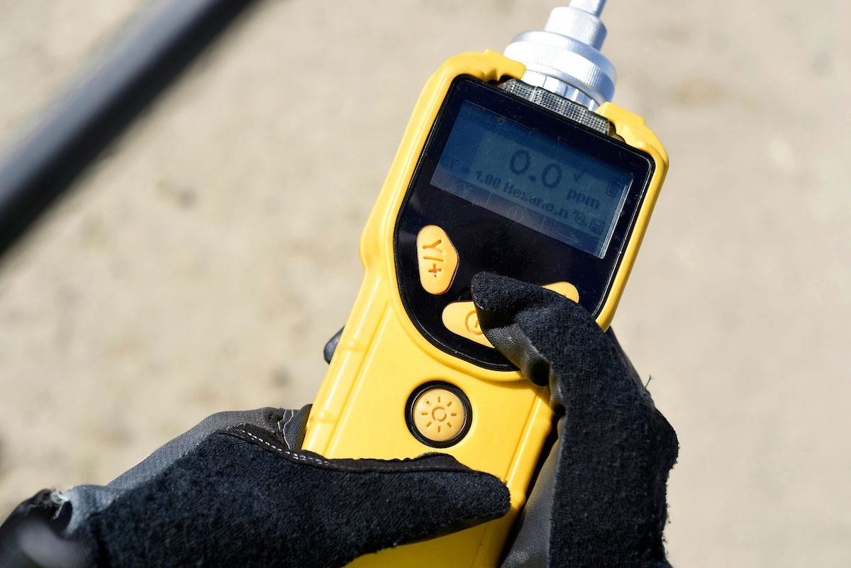 Air quality monitoring equipment