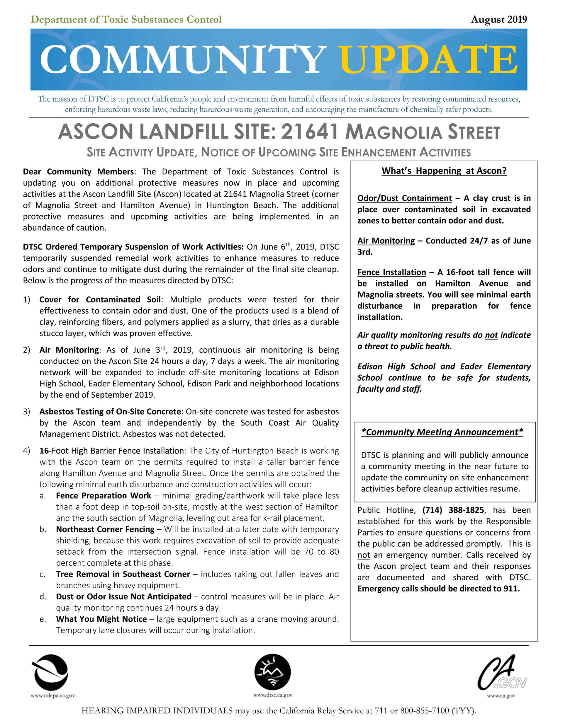 Ascon Factsheet #22